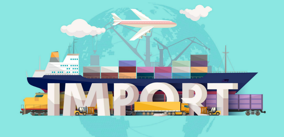 фотография оформления импорта